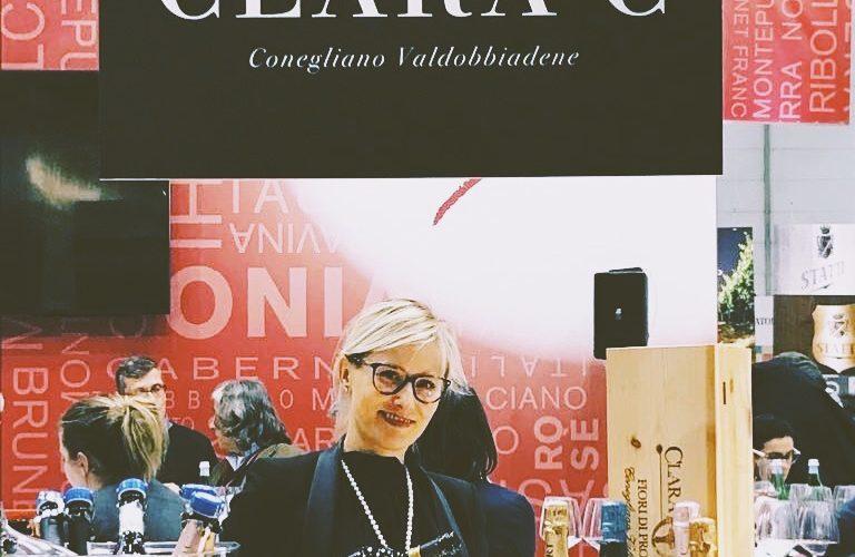Clara C' at Prowein 2018