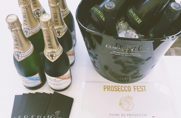 Clara C' rinova la sua presenza al Prosecco Fest a Praga